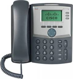Telefone por IP (internet) da Cisco modelo SPA303 c/ rede ethernet