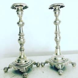 Castiçais de prata