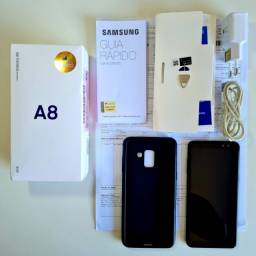 Celular Samsung Galaxy A8 64gb Preto - Impecável