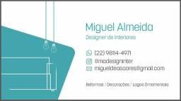Título do anúncio: Designer de interiores