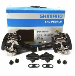 Pedal Shimano Original Mtb Pd-m505 C/ Nota Fiscal