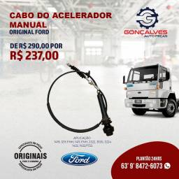 CABO DO ACELERADOR MANUAL ORIGINAL FORD