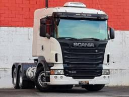 Scania R440 2013 A 6x4 Optcruise Pouco rodada, impecável!
