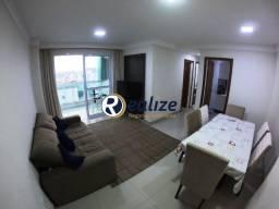 AP00798 Apartamento 02 Quartos sendo 01 suíte Mobiliado e Decorado na Praia do Morro