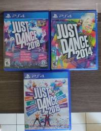 Just Dance 2014, 2018 e 2019 PS4