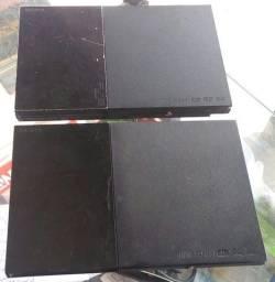 Aparelho Playstation 2 Desbloqueado Completo com a Garantia Divimos no seu cartao