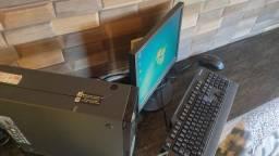 Computador completo CPU core i5 HD de 320gb 5gb de memória windows 7