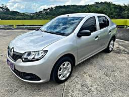 Renault Logan 2018 Authentique 1.0 completo IPVA 2021 pago!