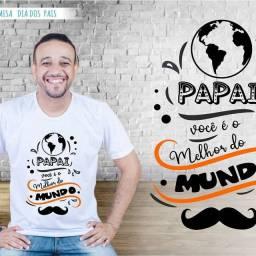 Camisas personalizadas Dia dos pais