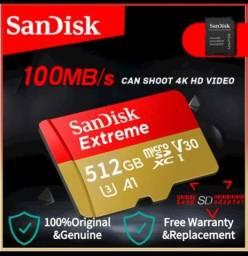 Cartão Micro SD 512Gb