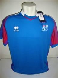 Camisa Seleção Islândia Copa do mundo 2018