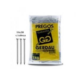 Prego 18x30 Gerdau Com Cabeça -