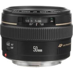 Lente Canon EF 50mm f/1.4 USM Original