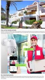 Camera inteligente giratoria com alarme wht 9  * $287,07