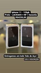 Iphone 11 - 128gb (LACRADO) + NF + Garantia