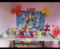 Decoração de festa Luccas Neto