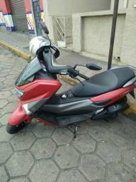 Scooter Nmax 160cc 2018 vermelha