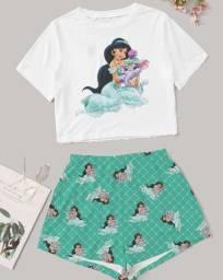 Pijamas 100% algodão