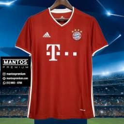 Camisa Nova Bayern de Munique Home 2020-21