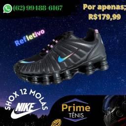 Nike Shox 12 Molas camaleão @primetenisgyn