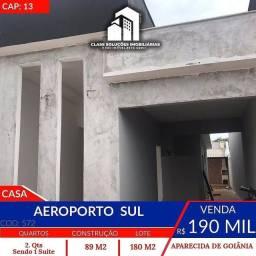 Casa no setor  aeroporto Sul 2 qts