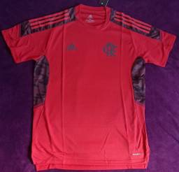 Camisa do Flamengo vermelha treino (disponível: P)
