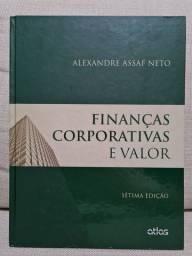 Livro finanças corporativas e valor