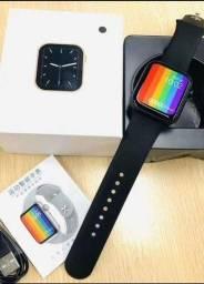 Iwo w66 relógio inteligente bluetooth 1:1 44mm