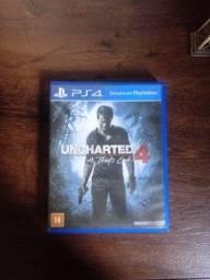 Jogo de ps4 uncharted 4 sou de Anápolis!