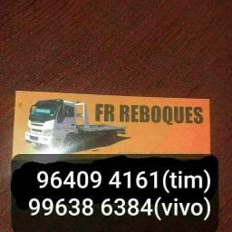 FR REBOQUES serviços de reboques e recargas de bateria