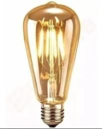 Lâmpadas Filamento Led Retrô Vintage 4w Quente St64