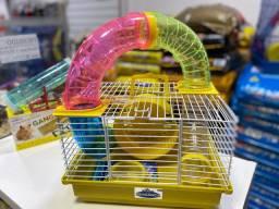 Gaiola de Hamster Tubo Completo