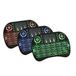 Mini teclado ALFANUMÉRICO com luz novo