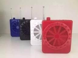 Megaphone Multifunções K150/ Rádio Fm / USB Player