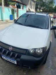Fiat strada cabine estendida completa