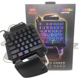 Teclado Gamer Usb Single Hand Knup Kp-tm-006