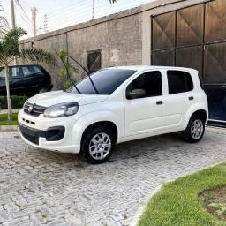 Uno Attractive Drive 1.0 Flex, Ano: 2018, Completo, Branco Pérola!!! (Muito Novo!!!)