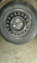 Vendo 4 rodas de ferro aro 14