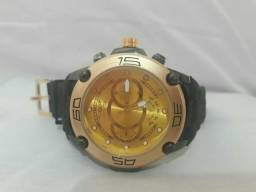 Relógio Masculino Invicta Esportivo Dourado - Frete Grátis