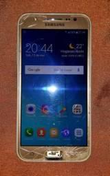 Muito barato! Smartphone Samsung Galaxy J5 Dourado Usado