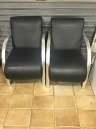Cadeira / poltrona de espera individual