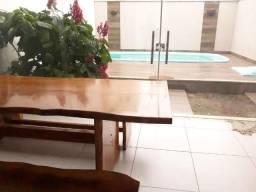 Casa duplex em Guriri, piscina, 4 quartos, 1 rua da praia, norte