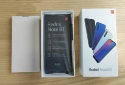 Xiaomi note 8 t 64gb 4ram Azul - lançamento - lacrado com 6 meses de garantia