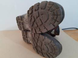03 calça ripstop cargo coturno bota Acero semi impermeável