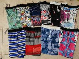Shorts moletom masculino