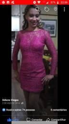Lindo vestido de festa de Renda