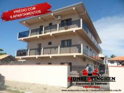 Ótimo investimento! Prédio com 06 apartamentos, em Bal. Barra do Sul - SC.