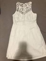 Vestido Branco Forever 21