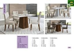 Mesa italia com 4 cadeiras *