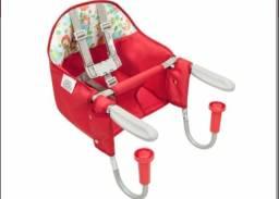 Cadeira De Refeição Para Mesa Fit Vermelho Tutti